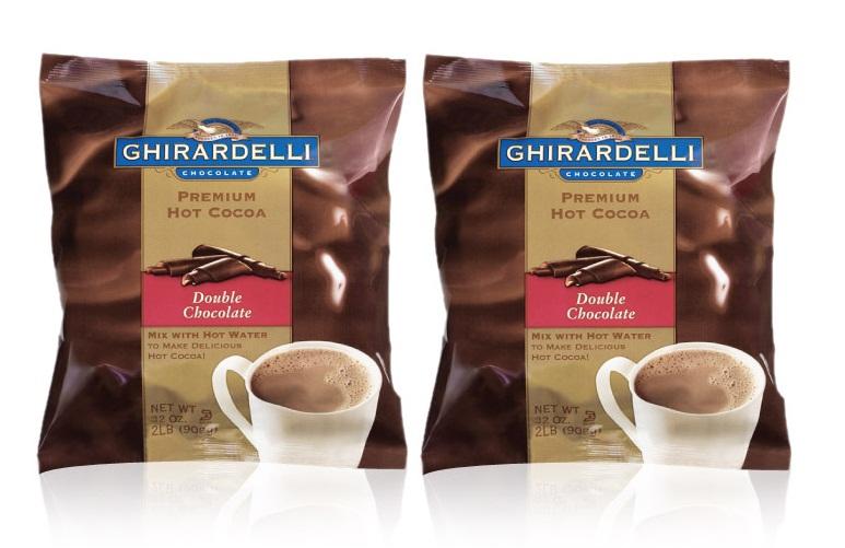[기라델리]프리미엄 핫 코코아 더블 초콜릿 1세트(908g x2개)